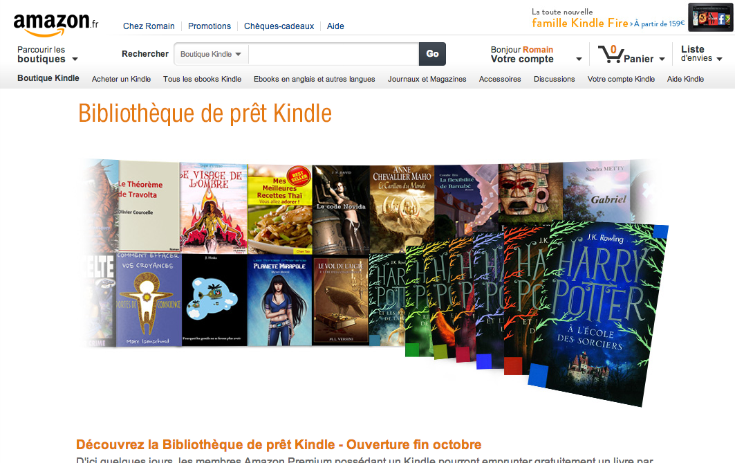 Amazon Releases Kindle's Lending Library In UK, Germany