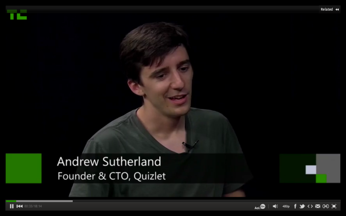"In the Studio,"" Quizlet's Andrew Sutherland Quietly Built A"