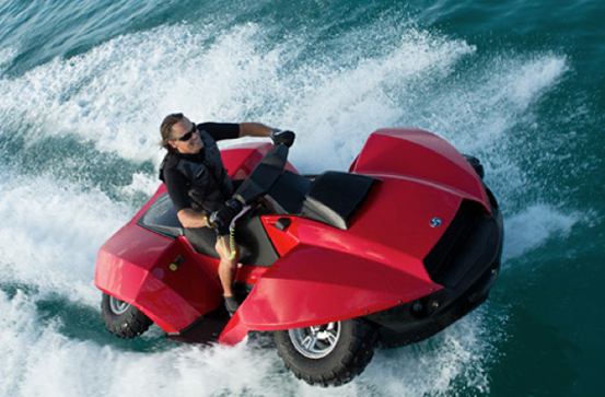 The Quadski Is A Cross Between Jet Ski And Four Wheeler Techcrunch