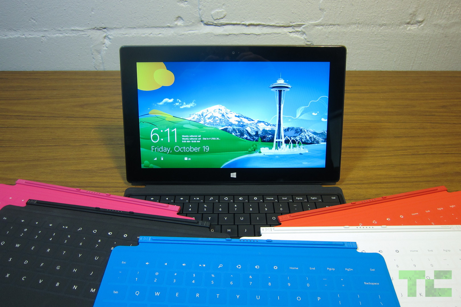 Microsoft Surface RT with Touch Covers