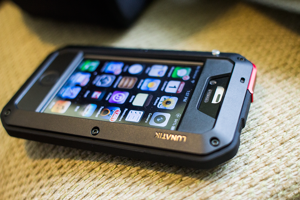 The Lunatik Taktik Case Arms Your Iphone For Danger With Rugged Style Techcrunch