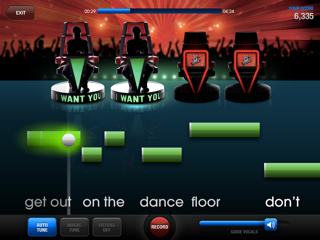 App For Singing With Spinning Record Auto Tune