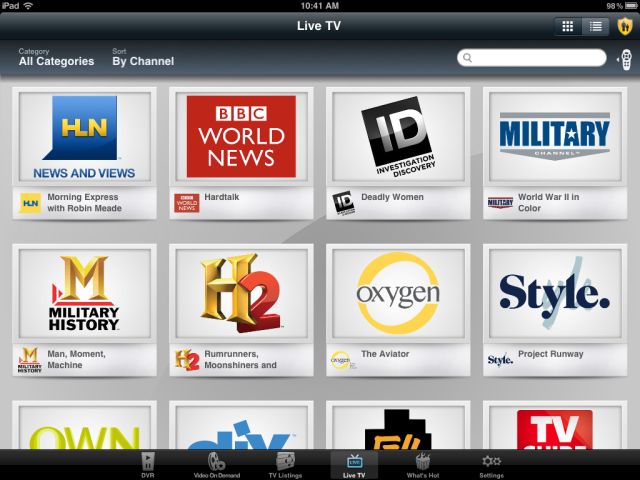 Hands On With The Verizon Fios Mobile App Techcrunch