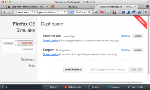 Mozilla Launches Experimental Browser-Based Simulator For