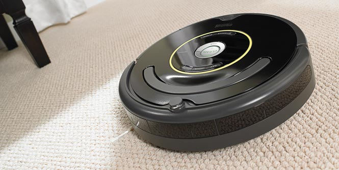 The iRobot Roomba 650, which Dyson could be looking to one-up.