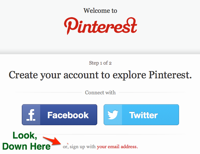 Pinterest Signups Done