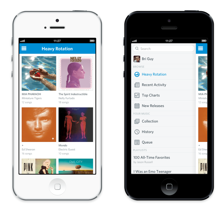 Rdio Revamps Its iOS And Android Apps Bringing Improved