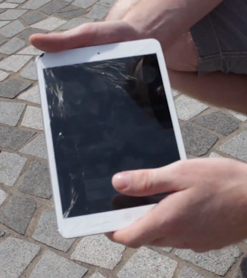 Video: Drop Test of the iPad Mini, Nexus 7 and the New iPad