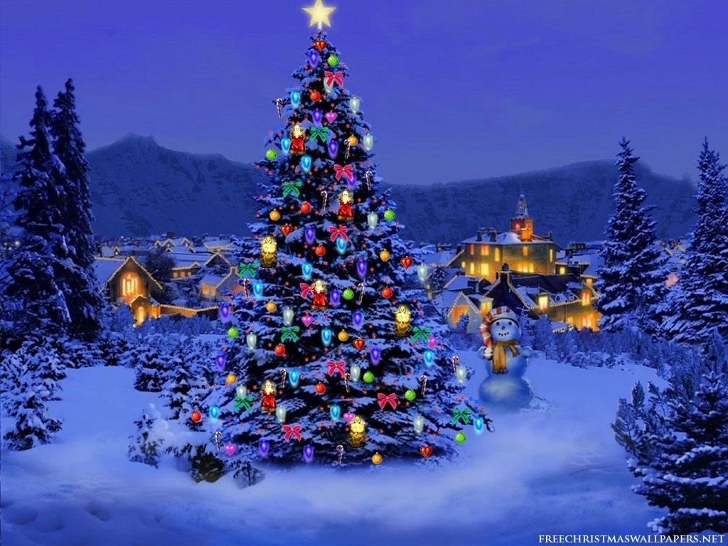 Christmas Tree Wallpaper Christmas 8142630 1024 768. U0027Twas The Night Before  Christmas ...