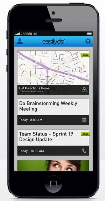 Easilydo Raises $4 3M For Its Just-Launched iPhone App That Makes