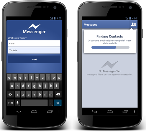 Facebook Messenger Phone number Signups