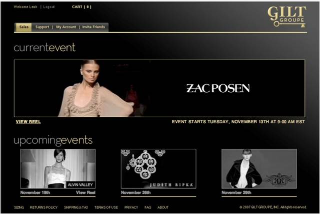 First Sale Zac Posen 2007