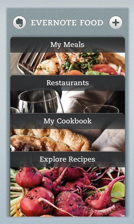 Evernote supersizes its ios food app adds ipad support punchfork about a year ago evernote hrefhttpsbetatechcrunch20111207evernote launches two new iphone apps food and hellobranched out from its core forumfinder Gallery