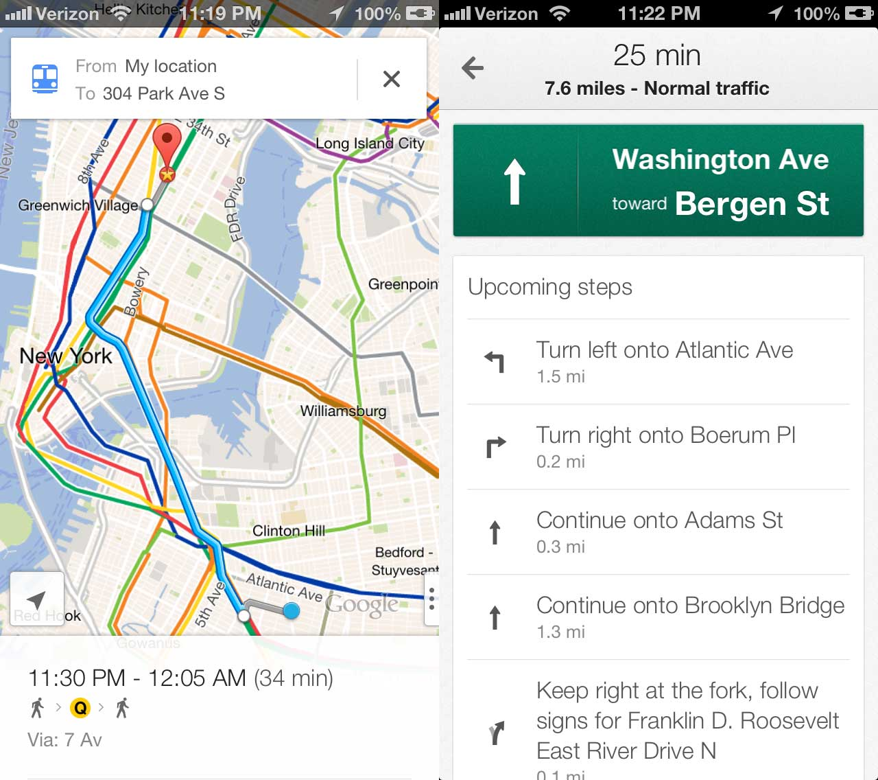 The Simple Trick To Use Google Maps With Siri | TechCrunch on