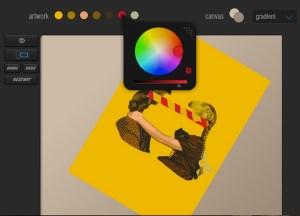 juciy canvas screenshot