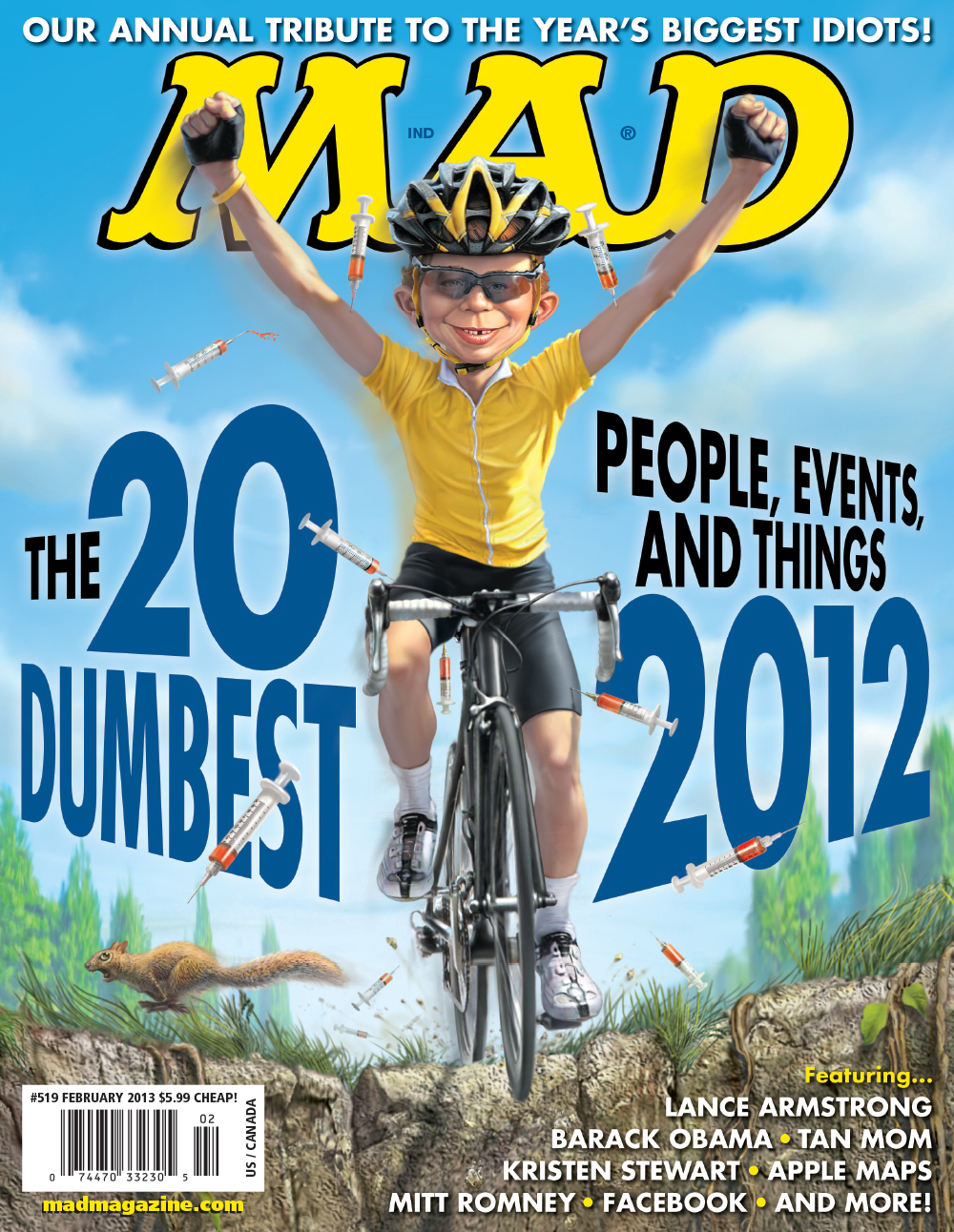 MAD Magazine 519 Cover #519