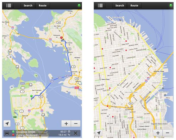 Openstreetmaps map app maker skobbler brings forevermap2 to kindle screen shot 2012 12 14 at 111049 gumiabroncs Images