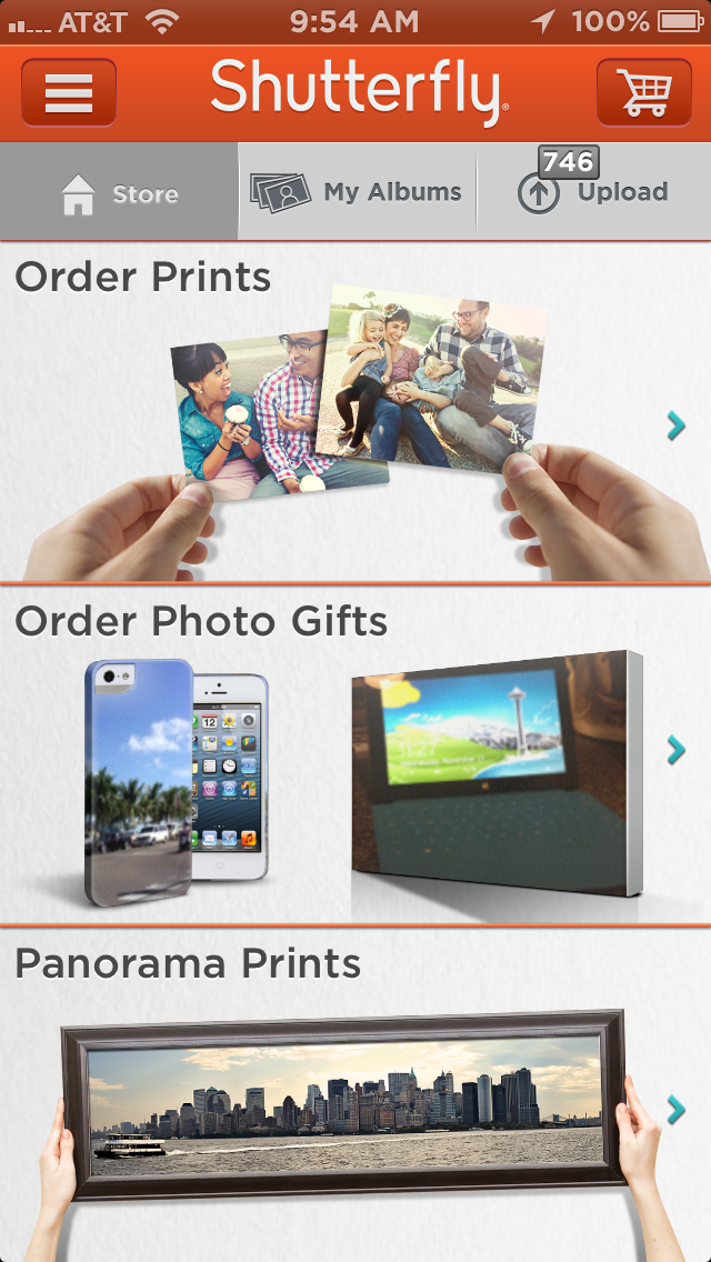 new style a8784 9c61a With Its New iPhone Application, Shutterfly Is Ready To Compete On ...