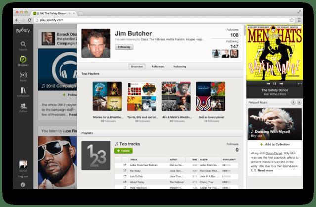 Spotify User Profile