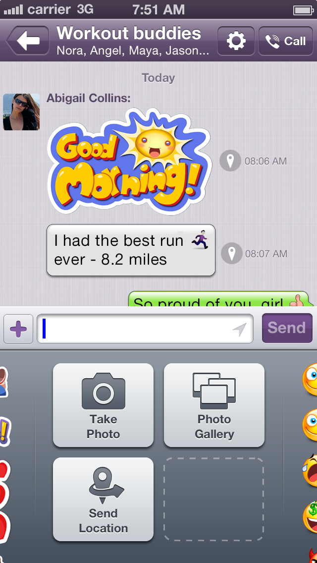 With 140m Users Skype Competitor Viber Launches Send Location Feature For Iphone Android