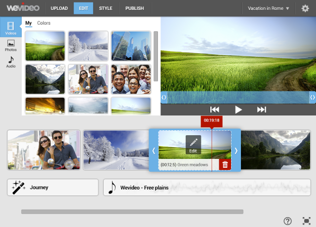 wevideo-storyboard-mode