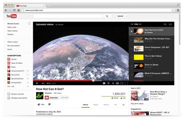 youtube newlook