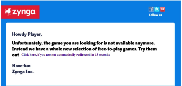 Game Over: Zynga Shuts Down PetVille And 10 Other Titles To Cut