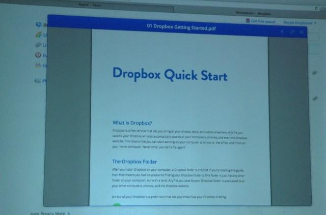 Dropbox Quick Start