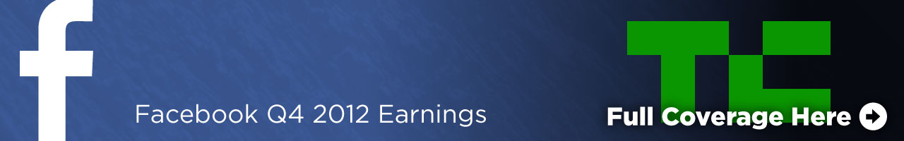 Facebook Q4 2012 Earnings