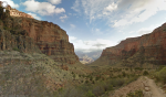 Grand Canyon- view from Bright Angel Trail