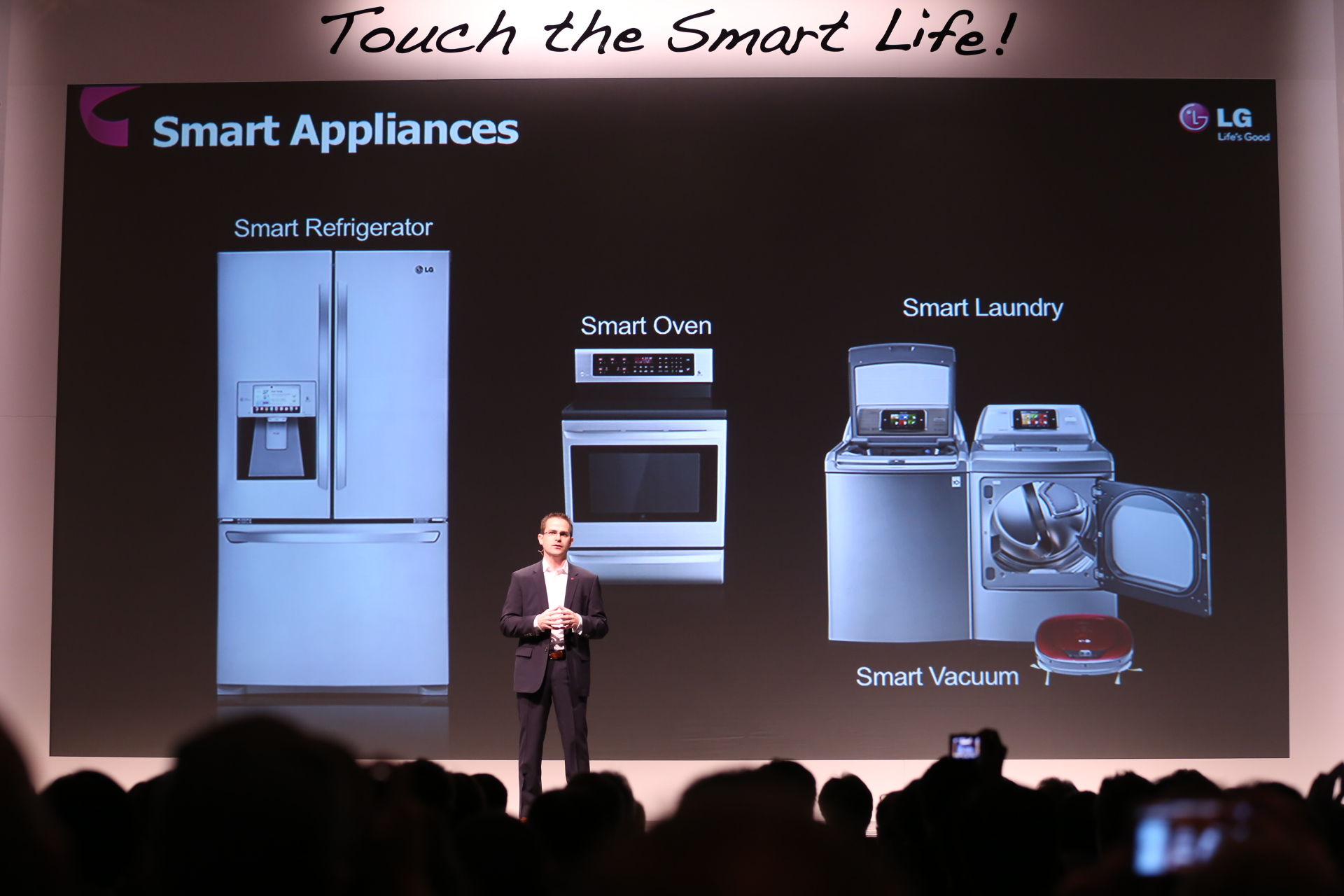 Smart Home Appliances ~ Lg s smart home gets a lot smarter in the company