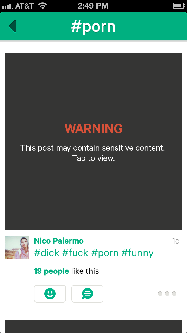 Vine Twitters New Video Sharing Platform Is Currently Experiencing A Porn Problem As Nick Bilton Pointed Out Earlier By Searching For The Tags Porn