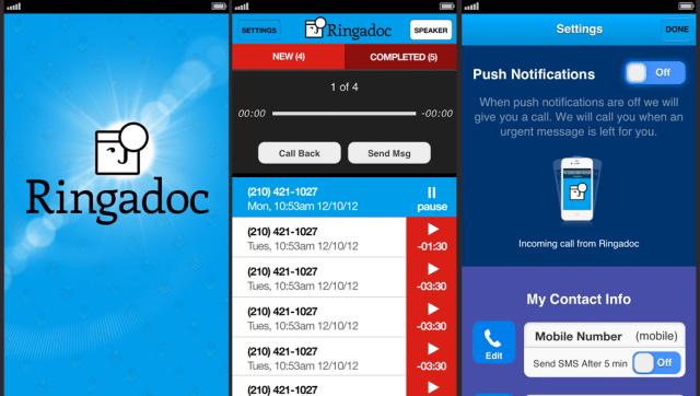 Ringadoc Exchange Screen Shots