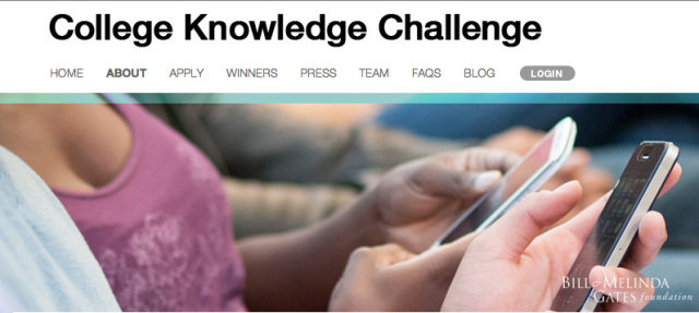 Gates Foundation Directs Funding Toward >> The 21 Winners Of The Facebook Gates Foundation Education App