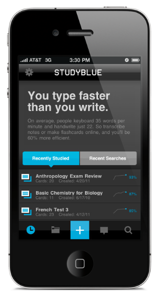 now 25m users strong crowdsourced learning platform studyblue grabs 9m to help students study on the go techcrunch