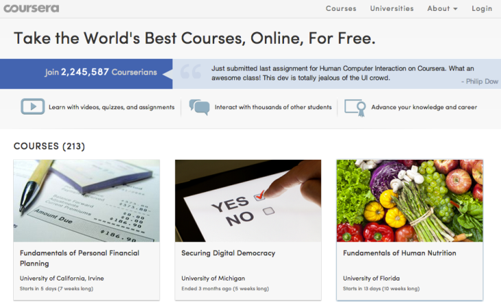 Coursera Takes A Big Step Toward Monetization, Now Lets Students