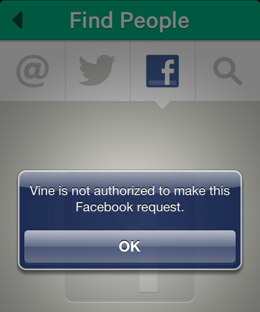 Vine Blocked