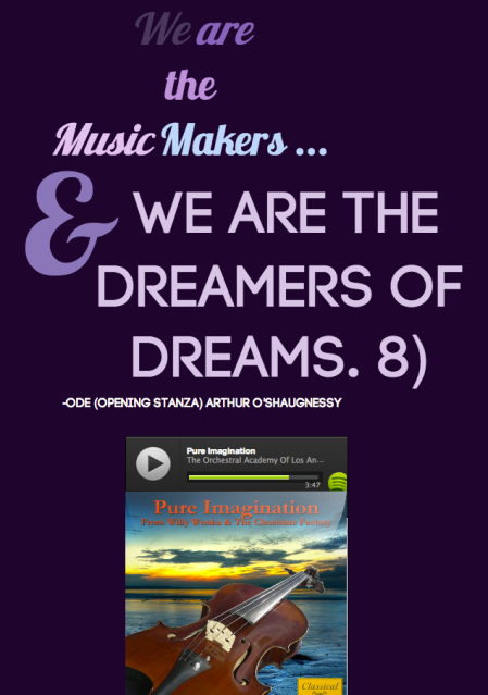 We Are The Dreamers Spotify Embed