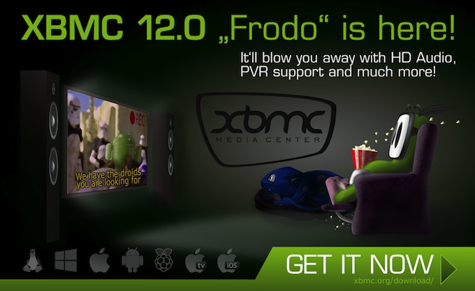 XBMC 12 Frodo Arrives, Bringing Raspberry Pi And Android
