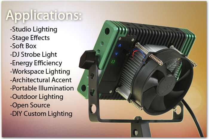 The Lumapad Is A Programmable, High-Intensity Spotlight For