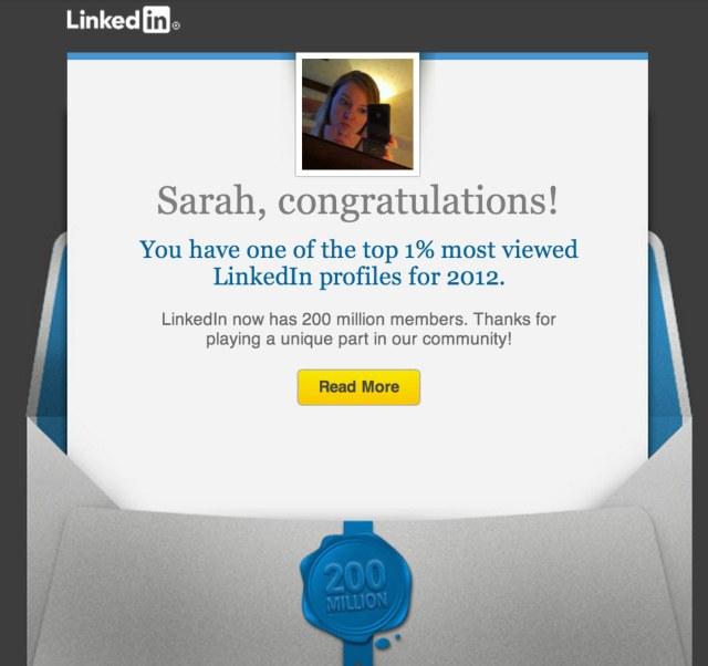 LinkedIn-email