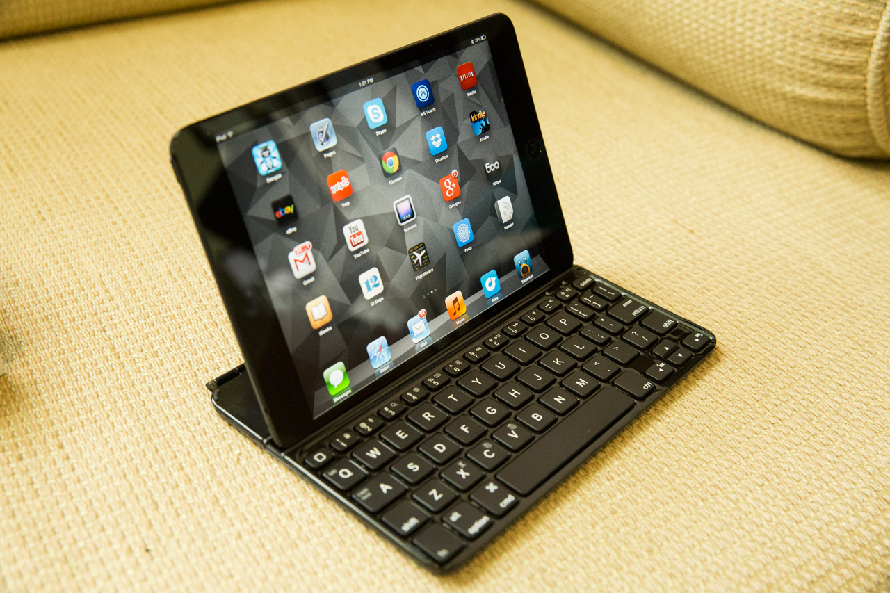 The Logitech Ultrathin Keyboard Case For iPad Mini