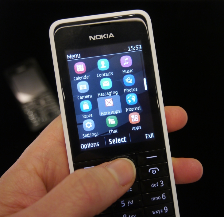 The Nokia 301 Is An $85 Feature Phone With Smartphone-Style