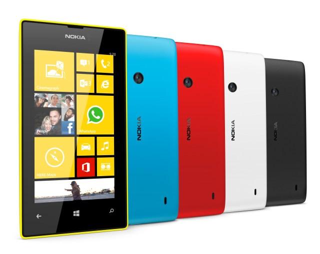 Nokia Lumia 520 range