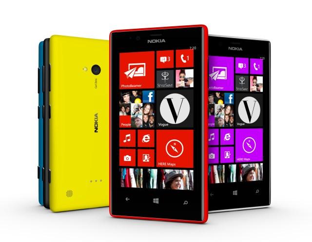 Nokia Lumia 720 range