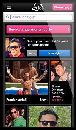 Girls rate guys app