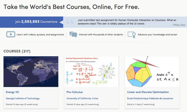 Online College Courses >> Curbing The Cost Of College Coursera Wins Approval To Offer Online