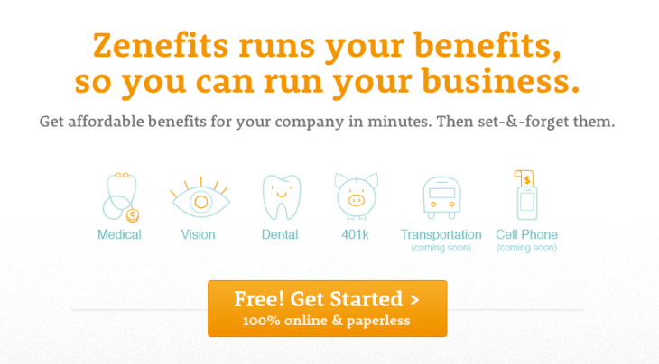Y Combinator-Backed Zenefits Gives Small Businesses A One