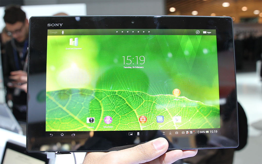 The Super-Slim Xperia Tablet Z Feels Like Sony's Finest
