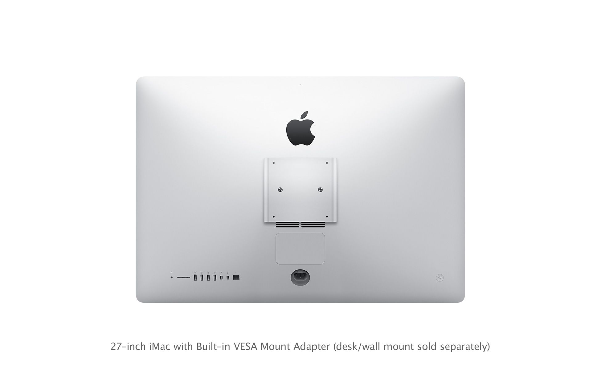 Apple Adds Built In Vesa Mount Adapter Option To Imacs For
